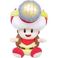 Little Buddy Toys Captain Toad Pluche - Sitting Toad