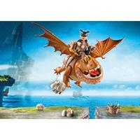 PLAYMOBIL Dragons - Vissenpoot en Speknekje