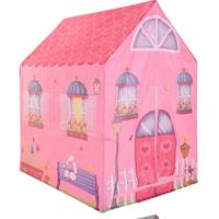 Free and Easy speeltent roze huis 102 cm roze