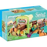 Bbm 9478 Dreamworks Spirit Paardenbox met Lucky en Spirit