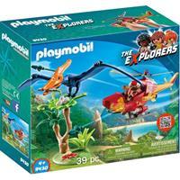 Bbm The Explorers - Helikopter met Pteranodon