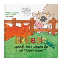 YourSurprise Dikkie Dik XXL flapjesboek - Verstoppertje