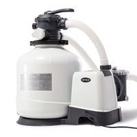 Intex Krystal Clear Sandfilterpumpe 26652GS 12 m³/h Weiß