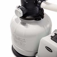 Intex Krystal Clear Sandfilterpumpe 26648GS 10,5 m³/h Weiß