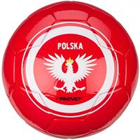 avento voetbal World Soccer Poland maat 5 rood