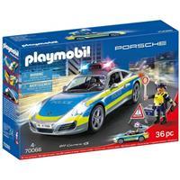 Playmobil 70066 Porsche 911 Carrera 4S Politie - wit