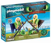 Playmobil Dragons - Schorrie en Morrie in vliegpak