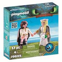 Playmobil 70045 Bruidspaar Hikkie en Astrid