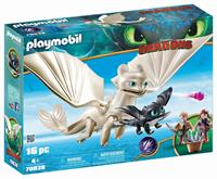 Playmobil Dragons - Hemelfeeks en Babydraak met kids