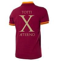 AS Roma Retro Voetbalshirt 1978-79 + Totti X Aeterno