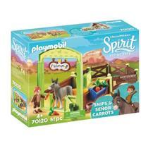 Playmobil Spirit Riding Free - Knip en Meneer Worteltjes met