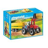 Playmobil Country - Grote tractor met aanhangwagen