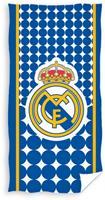 Realmadrid badlaken Logo 70 x 140 cm blauw