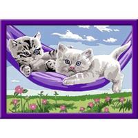 Ravensburger Schilderen op Nummer Kittens in de Hangmat