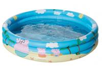 happy people Peppa Pig 3-Ring-Pool, 100 cm bunt