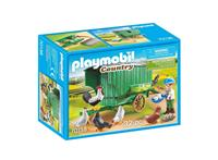 Playmobil Country - Kind met kippenhok