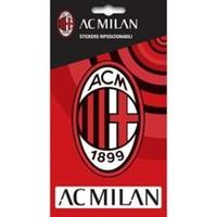 Taylors Football Souvenirs Milan Sticker - Rood