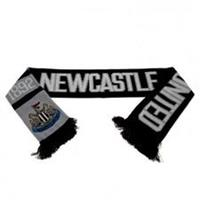 Taylors Football Souvenirs Newcastle Sjaal - Zwart