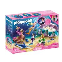 Playmobil Magic - Nachtlamp in schelp met meerminnen