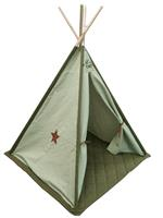 pericles Overseas Tipi Tent Canvas Luxe Olive / Ice