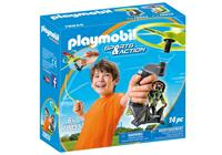 PLAYMOBIL Sports & Action Top Agent propeller (70055)