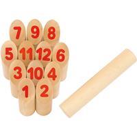 Goki Wikingerspiel Number Kubb, im Baumwollbeutel