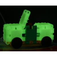 Clics Toys Glow in the Dark koker