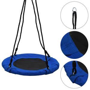 vidaXL Schommel 100 kg 60 cm blauw