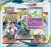 Pokemon Sun & Moon Cosmic Eclipse 3 Booster Blister