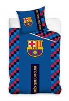 dekbedovertrek Més Que Un Club 140 x 200 cm blauw