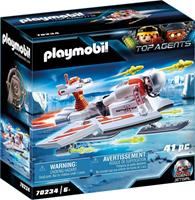 PLAYMOBIL Top Agent Spy Team zweefvliegtuig (70234)