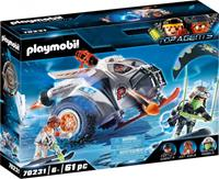 PLAYMOBIL Top Agent Spy Team sneeuwmobiel (70231)