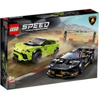 Speed Champions 76899 Lamborghini Urus ST-X & Lamborghini Huracn Super Trofeo EVO