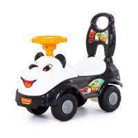 ® Loopwagen Panda - Zwart