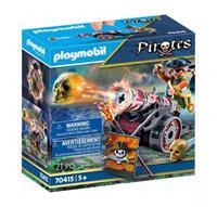 PLAYMOBIL Pirates: Piraat met kanon (70415)