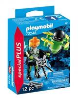 PLAYMOBIL Playmo Friends: Agent met drone (70248)
