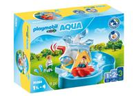 PLAYMOBIL 1, 2, 3 Waterrad met carrousel (70268)