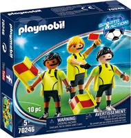 PLAYMOBIL scheidsrechtersteam junior 7 delig