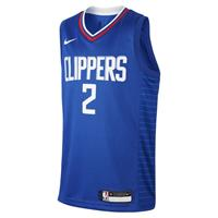 Nike Kawhi Leonard Clippers Icon Edition Swingman  NBA-jersey voor kids - Blauw