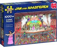 Jan van Haasteren Eurovisie songfestival 1000 stukjes
