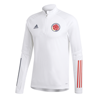 adidas Colombia Trainingstrui 2020-2021 Wit Blauw Rood