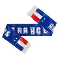 Merchandise Frankrijk Satin Sjaal EURO 2020 - Blauw/Rood/Wit