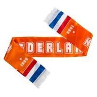 Merchandise Nederland Satin Sjaal EURO 2020 - Oranje/Rood/Blauw/Wit