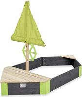 exit Aksent houten zandbak boot 190x90cm
