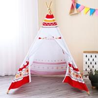 sunny LED Tipi Tent Rood/wit