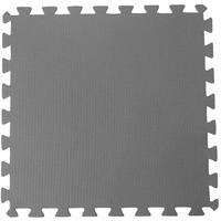 Leen Bakker Ondertegels voor zwembad - grijs - 50x50x0,8 cm (8 stuks)