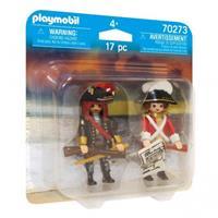 PLAYMOBIL Duopack: Piratenkapitein en Roodroksoldaat (70273)