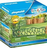 PLAYMOBIL Family Fun: Omheining (70347)