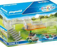 PLAYMOBIL Family Fun: Uitbreidingsset voor dierenpark (70348)