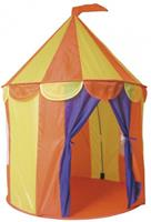Paradiso Toys speeltent circus 95 x 125 cm geel/oranje